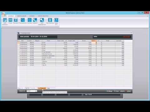 WebFinance - Filtrering i gitre