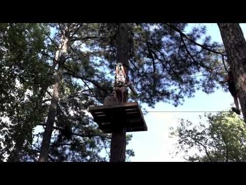Callaway gardens 39 summer family adventure youtube for Callaway gardens treetop adventure
