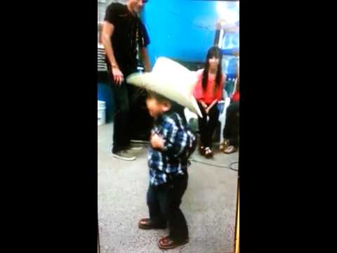 Little Mexican Boy Dancing