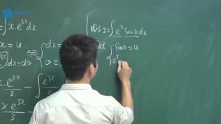 Phương pháp nguyên hàm từng phần