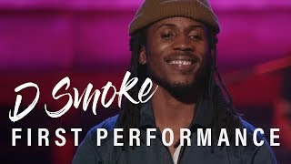 D Smoke - First Performance (Rhythm and Flow - Casting)