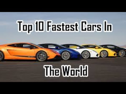 Top 10 Fastest Cars Of All Times