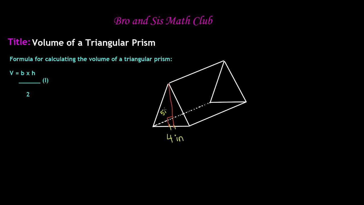 How To Find The Perimeter Of A Right Triangular Prism
