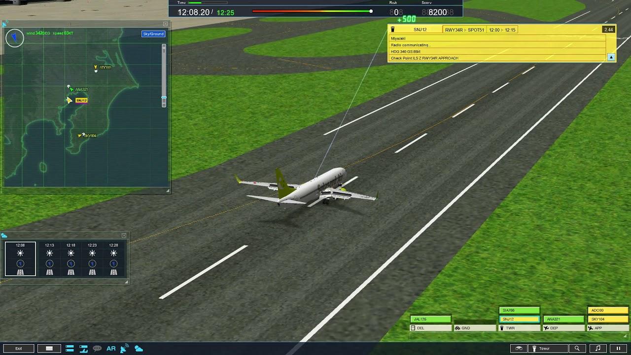 Download ATC4 RJTT2 Haneda version 2 stage 1 MP3 - ZONAMP3