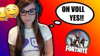 HOT GIRL RAGES ON FORTNITE!! (Fortnite Battle Royale Funny Moments)