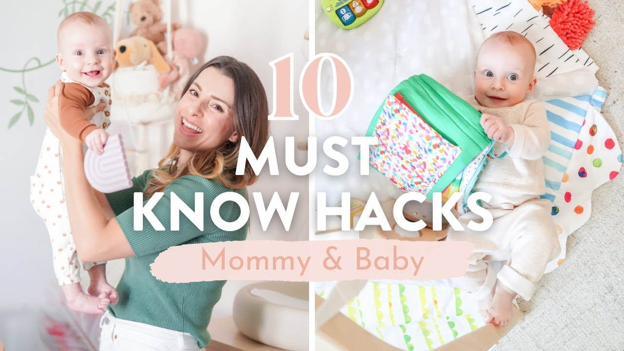 10 *MUST KNOW* Mom Hacks   How To Survive The First Year with a Baby!