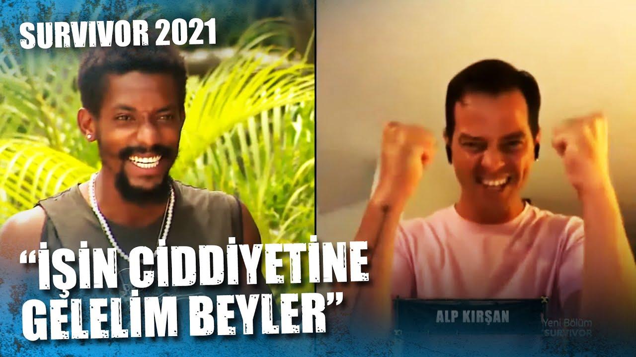 ALP KIRŞAN'IN ANLAT BAKALIM PERFORMANSI   Survivor 2021