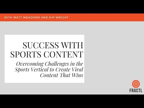 Success with Sports Content: Behind the Scenes of a Viral Marketing Campaign