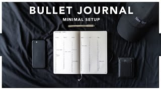 Journaling for Productivity | My MINIMALIST BULLET JOURNAL