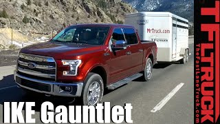 2016 Ford F-150 5.0L Takes on the Extreme Ike Gauntlet Towing Review