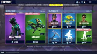 BOUTIQUE FORTNITE DU 18 MAI 2018 !!! ~ Item Shop 18 May 2018 ~ (18/05/2018)+NEW SKINS ?