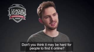 funny video about eu lcs caster tsepha changing his name to drakos