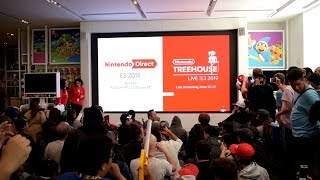 Nintendo Direct E3 2019 Live Reactions at Nintendo NY [ABSOLUTELY INSANE O_O]