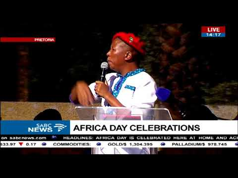 Julius Malema slams Thuma Mina campaign and ENCA