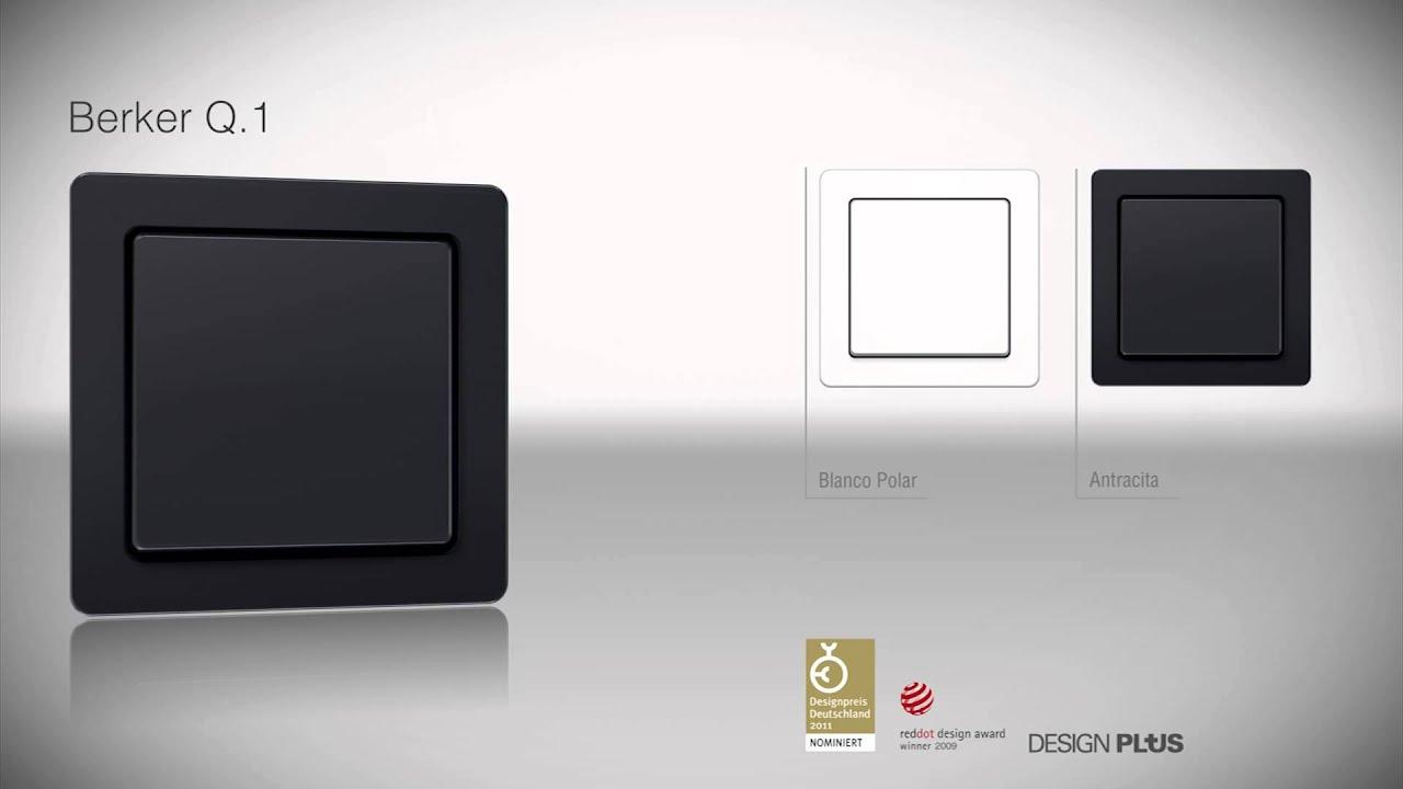 berker q1 youtube. Black Bedroom Furniture Sets. Home Design Ideas