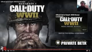 Call of Duty World War II Reveal Reaction