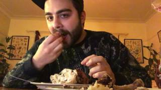 Me eating 1 whole chicken and 1 can of Coke Zero [ASMR]