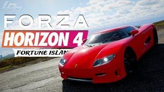 FORZA HORIZON 4 FORTUNE ISLAND Part 8 - Der Ursprung von Koenigsegg! | Lets Play