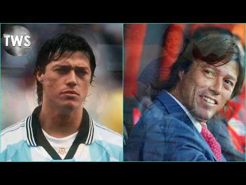 Then And Now - Argentina Squad At FIFA World Cup 1998
