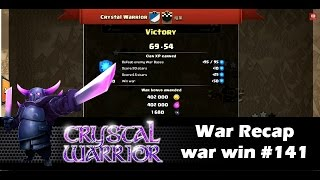 War Win #141 [GoHog,HoGoWiWiPe,HoGoWiWi] | Clan Wars | Clash Of Clans HD
