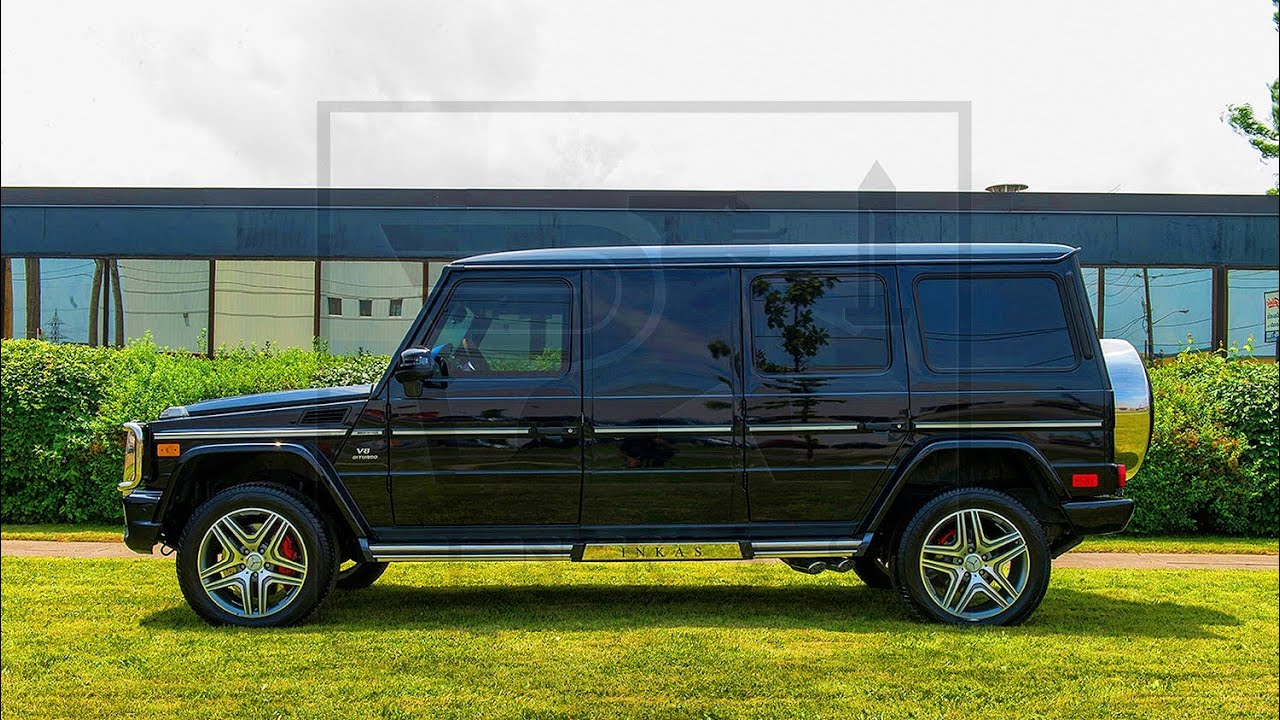 Slides Us 450 000 Inkas Bulletproof Mercedes Benz G 63