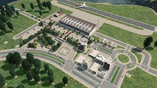 Rzeczy przy lotnisku - Cities: Skylines S08E13