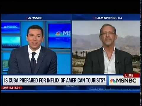 MSNBC interview with Cuba expert Christopher P Baker about travel to Cuba
