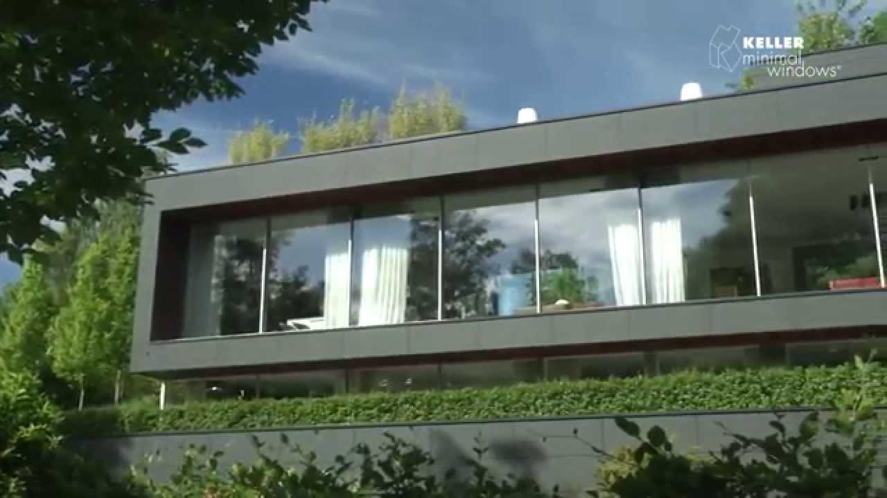 Vetrate scorrevoli tutto vetro youtube for Case con vetrate