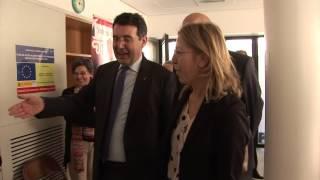 La consellera Neus Munté visita equipaments socials a Banyoles