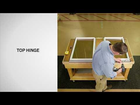Sash Replacement on Andersen® 100 Series Casement Windows