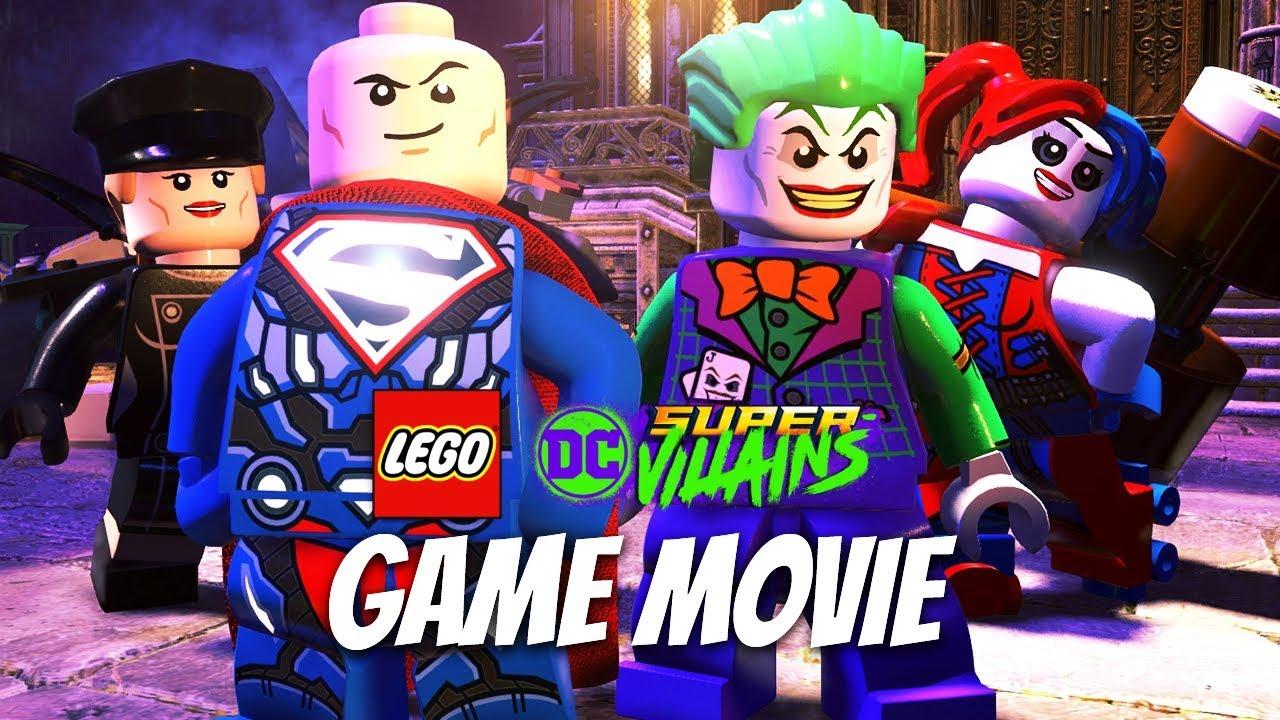 LEGO DC SUPER VILLAINS All Cutscenes (Game Movie) 1080p 60FPS