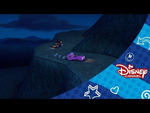 Mickey a závodníci | Strašidelný závod