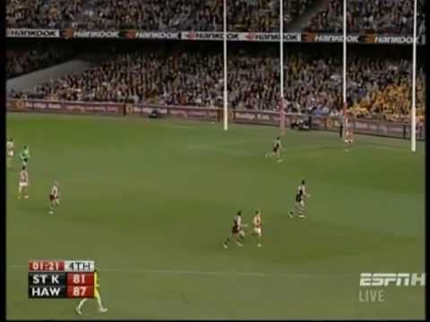 The Last 5 Minutes - St Kilda Saints v Hawthorn Hawks (2010 AFL Season - Round 17)