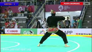Download Video ASIAN GAMES 2018 - FINAL SINGLE Female  PUSPA ARUMSARI Indonesia MP3 3GP MP4