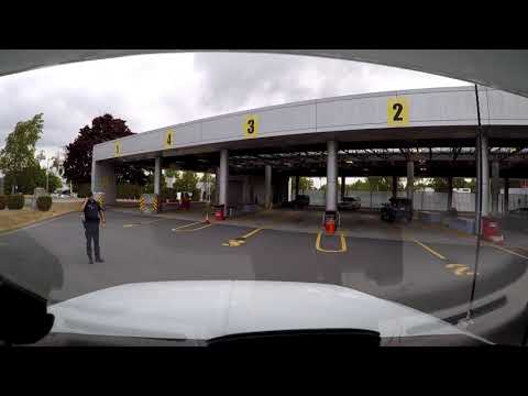 Canadian Border Crossing Searched