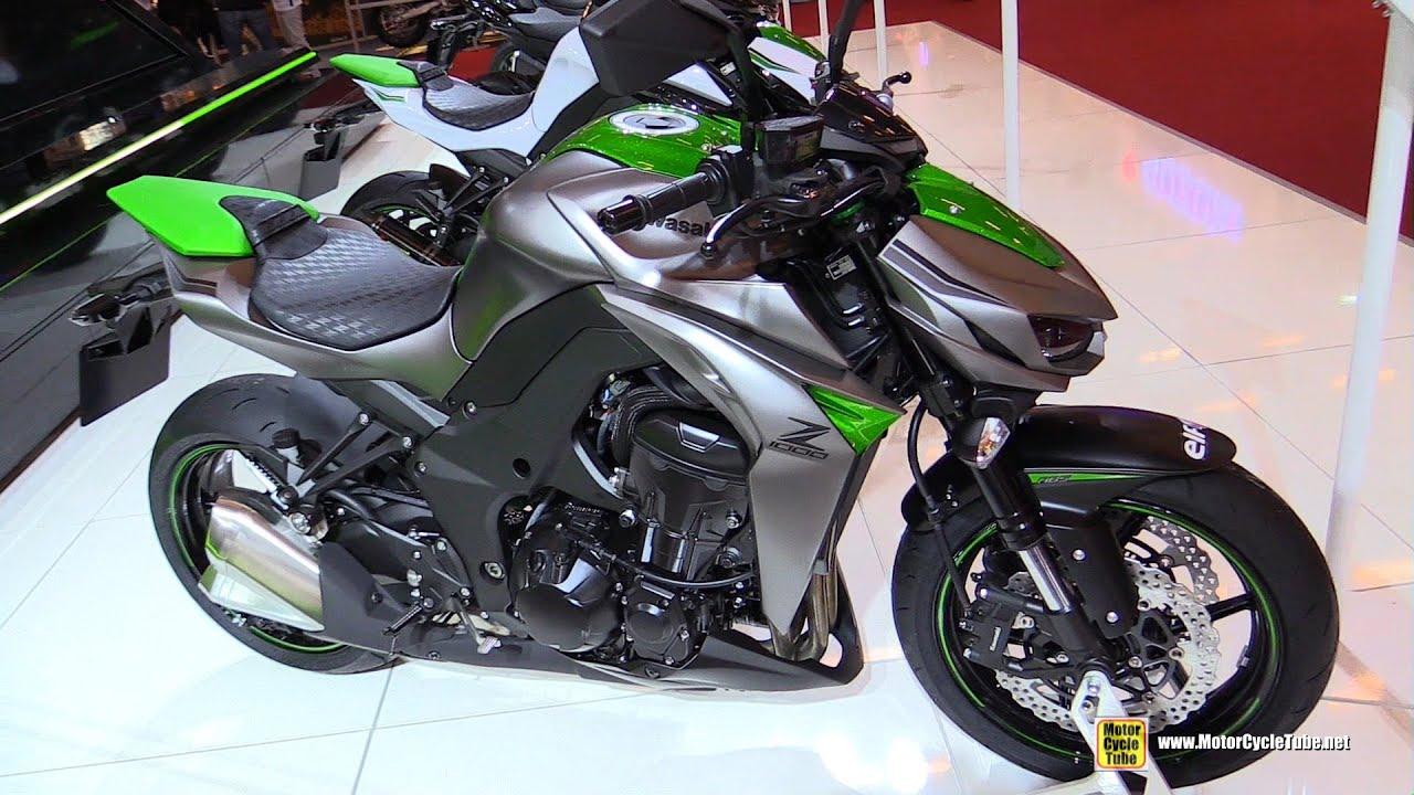 2016 kawasaki z1000 abs walkaround 2015 salon de la moto paris youtube. Black Bedroom Furniture Sets. Home Design Ideas