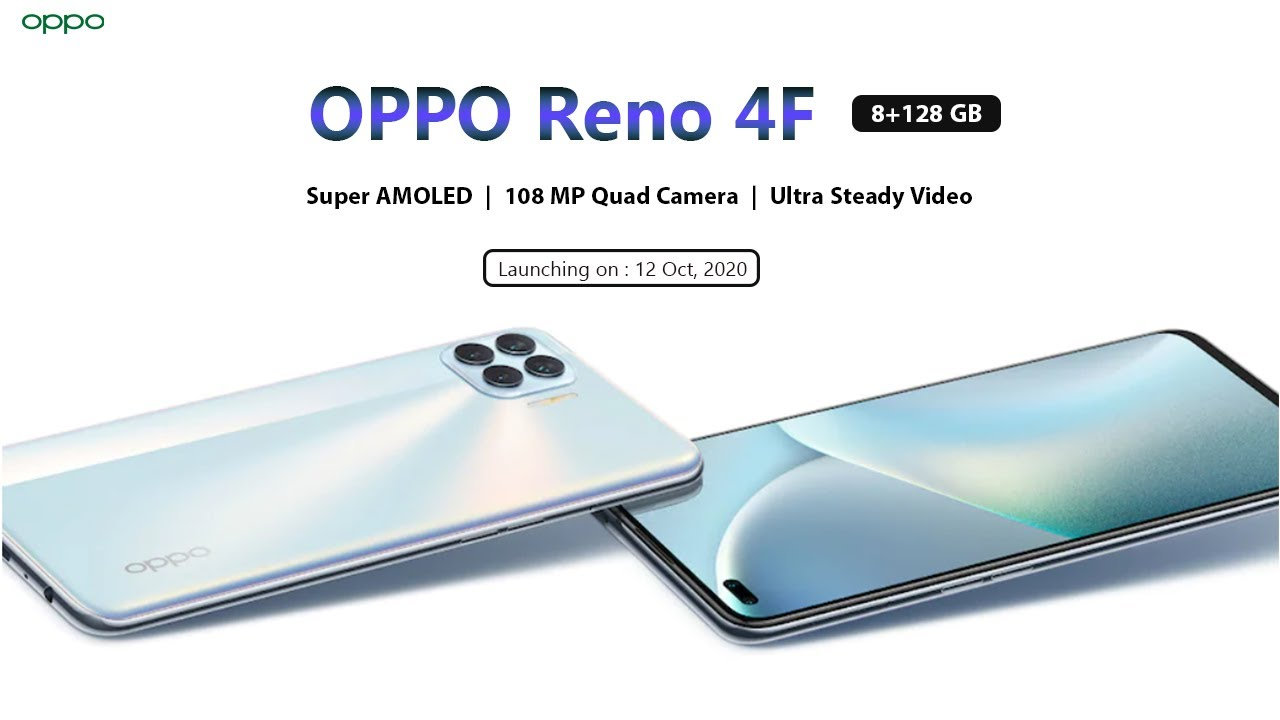 OPPO Reno 4F - 108 MP Camera - Specifications | Official Launch