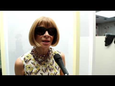 Exclusive interview with Anna Wintour