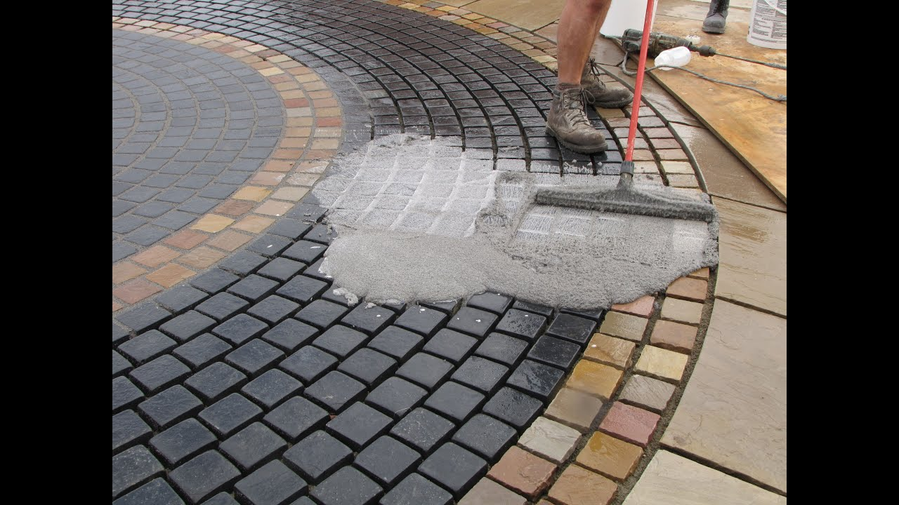 How To Point A Stone Sett Patio And Driveway With Gftk S