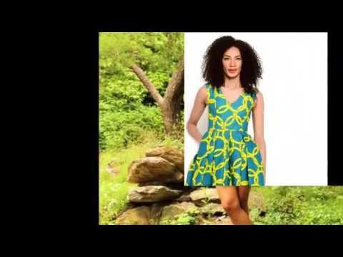 Mini dress Styles - Short Mini Dress Ideas for cute African Ladies