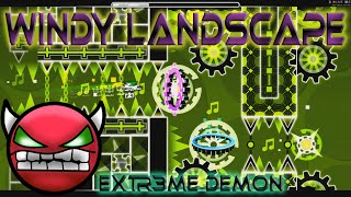 """Geometry Dash"" - Windy Landscape (INS4NE Demon)"