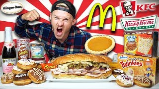 THE ULTIMATE AMERICAN THANKSGIVING CHEAT MEAL! (16,000+ CALORIES)