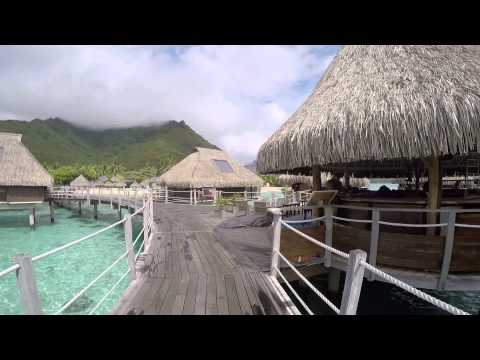 Going to our OWB in Moorea French Polynesia