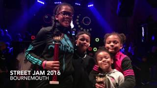 Street Jam 2016 Bournemouth 16's & Under Breakin Battle Bgirl Eddie vs Street Dreamz 1 Final