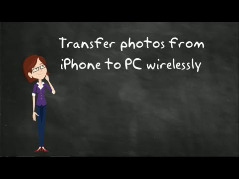 Transfer Photos from iPhone to PC Wirelessly