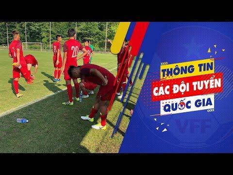 Trận đấu đầu tiên trên đất Nhật Bản của ĐT U18 Việt Nam trước tuyển SV trường Kanagawa | VFF Channel