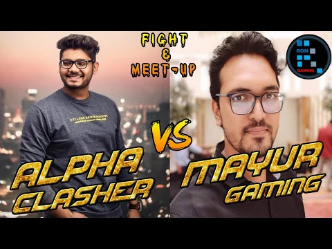 #alpha #mayur #ron Alpha Clasher Vs Mayur Gaming And Ron Gaming | Fight Or Meet-up???