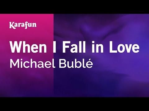 Karaoke When I Fall in Love - Michael Bublé *