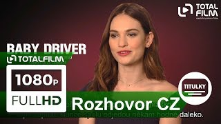 Baby Driver (2017) Ansel Elgort a Lily James o filmu CZ HD