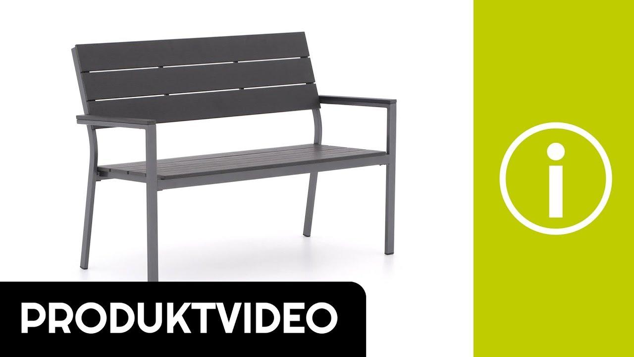 Produktvideo Bellagio Bravo Gartenbank Royal Grey 128 cm   Kees Smit ...